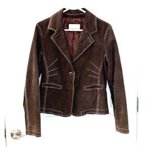 Wilson's leather jacket chocolate sized large.